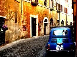 Fræk fredag i Trastevere, Roma