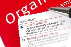 Mit klare ja til organdonation blev i dag til et tøvende tja…