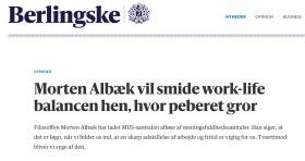 Morten Albæk: meningsfuldt (arbejds)liv